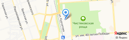 Детский сад №128 на карте Краснодара