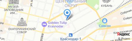 КодексМедиаИнформ на карте Краснодара