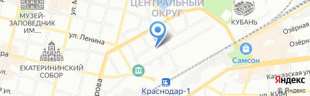 Масс Штаб на карте Краснодара