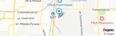 СпецСтрахКонтроль на карте Краснодара