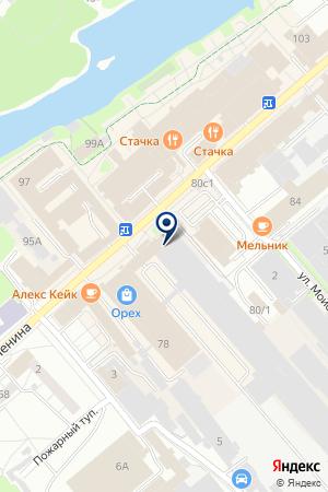 РЕДАКЦИЯ ГАЗЕТЫ СВОБОДА И СЛОВО на карте Орехово-Зуево