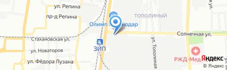 Электро-Сервис на карте Краснодара
