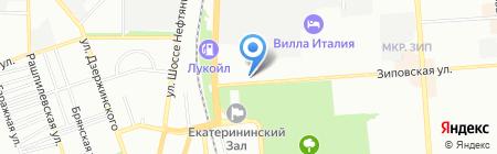 Авто Континент С на карте Краснодара