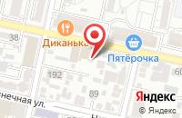 Схема проезда до компании Рекламное Агентство «Шансон» в Краснодаре