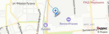 Колорит на карте Краснодара