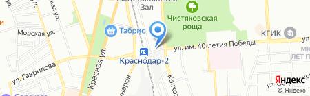 СемьЯ на карте Краснодара