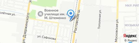 Статус-Стандарт на карте Краснодара