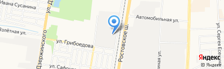 Аметист-плюс на карте Краснодара