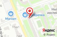 Схема проезда до компании Центр натяжных потолков в Орехово-Зуево