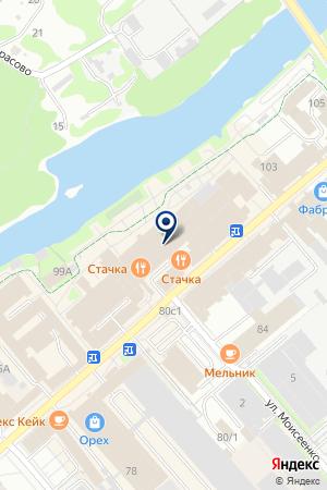 ПТФ ЕГАНОВ.И.Ф. на карте Орехово-Зуево