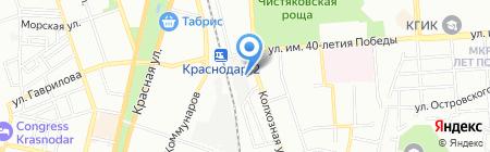 Гудвин на карте Краснодара