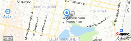 Детский сад №168 на карте Краснодара