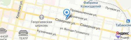 Банк ВТБ24 на карте Краснодара