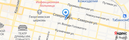 Детский сад №69 на карте Краснодара