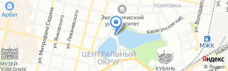 ВИВАСАН-Краснодар на карте Краснодара