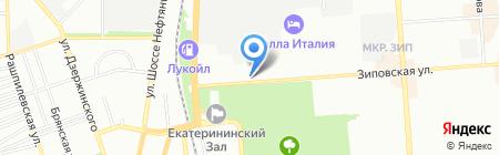 GUTENBERG на карте Краснодара