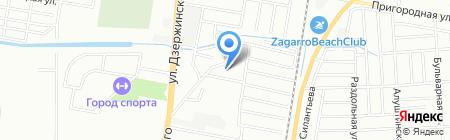 Эдем на карте Краснодара