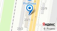 Компания ИнтекнолКубаньСтрой на карте