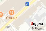 Схема проезда до компании Комfорт в Орехово-Зуево