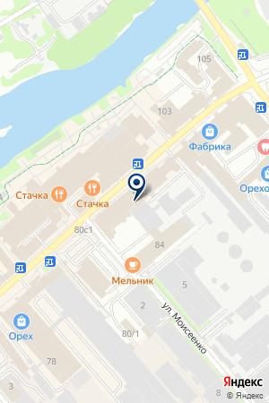 АДВОКАТСКОЕ БЮРО ГРОЗА И ПАРТНЕРЫ СТЕПАНОВ на карте Орехово-Зуево