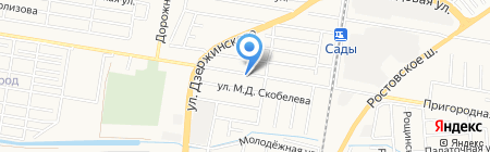Мираж на карте Краснодара