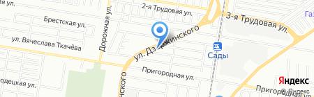 Мкс на карте Краснодара