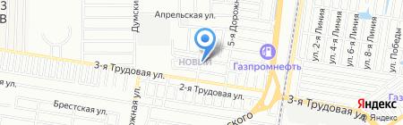 Ангел на карте Краснодара