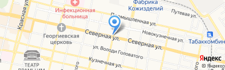 Теремок на карте Краснодара