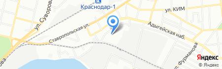 Fresh на карте Краснодара
