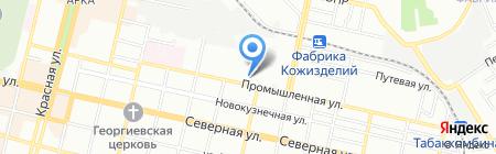 Реакция на карте Краснодара