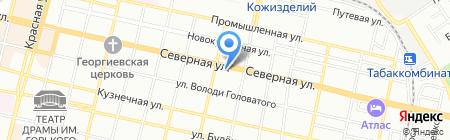 Николь на карте Краснодара