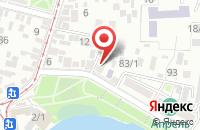 Схема проезда до компании Служба Обеспечения Государственного Заказа в Краснодаре