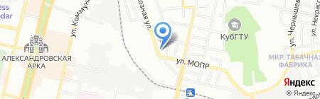 Скадо на карте Краснодара