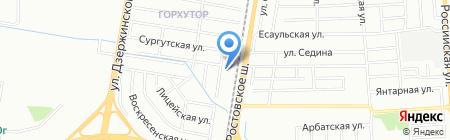 КЕДР на карте Краснодара