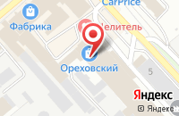Схема проезда до компании Эверсэнс в Орехово-Зуево