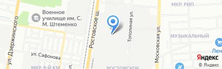 ТДСТ Изоляция Юг на карте Краснодара