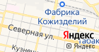 Продовольственный магазин на Садовой на карте