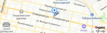 Запад Инвест Строй на карте Краснодара