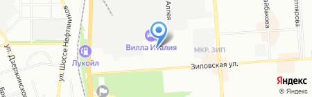 Фоникс на карте Краснодара