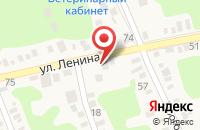 Схема проезда до компании Автосервис в Новотитаровской
