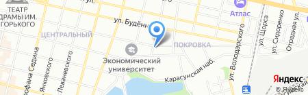 Мастерская красоты на карте Краснодара