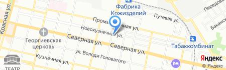 Стоматология на карте Краснодара