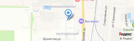 Topless на карте Краснодара