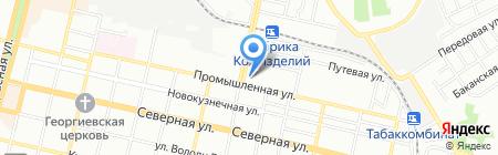 Пвх-М на карте Краснодара