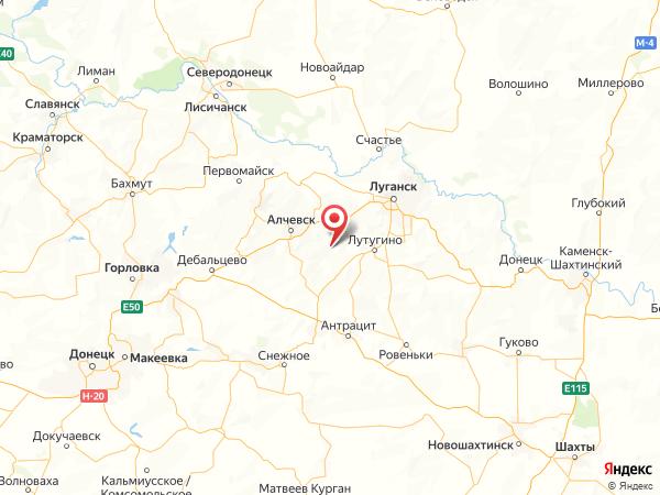 село Великая Мартыновка на карте