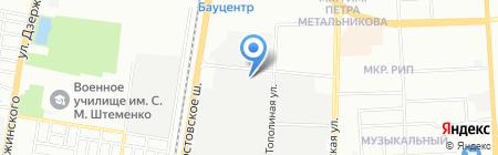 ЛесКрафт на карте Краснодара