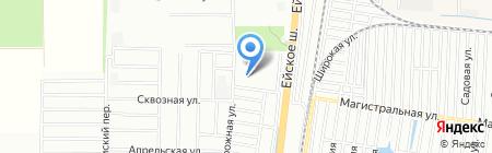ЛукМаркет на карте Краснодара
