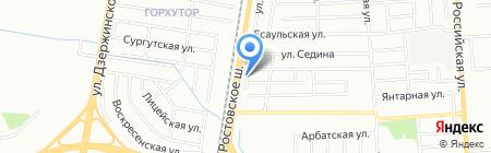 Юмал-авто на карте Краснодара