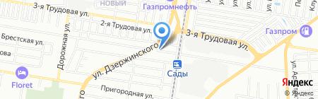 Мельница на карте Краснодара