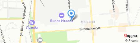 Аквахим на карте Краснодара